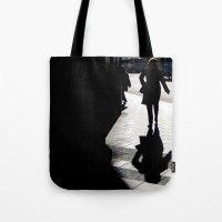 Me, myself and my shadow Tote Bag