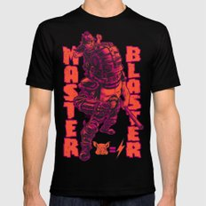 THUNDERDOME: MASTER BLASTER SMALL Mens Fitted Tee Black