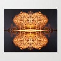 Quad Tree #5 Canvas Print