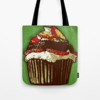 Strawberry Cake Tote Bag