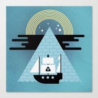 Born To Explore Pt4 Canvas Print
