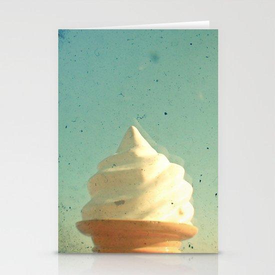 Ice Cream Stationery Card