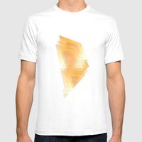 Sunshine Ripples Mens Fitted Tee White SMALL