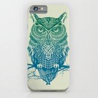 Warrior Owl iPhone 6 Slim Case