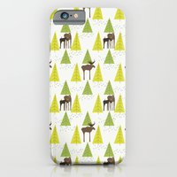 iPhone & iPod Case featuring Moose Family 3 by Cecilia Andersson