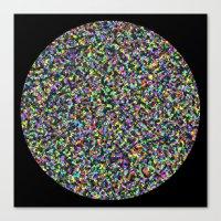 Black Opal Canvas Print