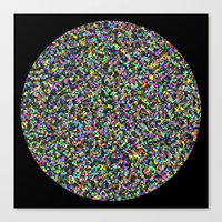 Black Opal Canvas Print
