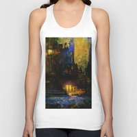 Between dawn and dusk Unisex Tank Top