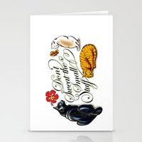 Don't Sweat The Small St… Stationery Cards