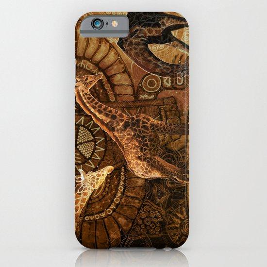 Three Giraffes iPhone & iPod Case