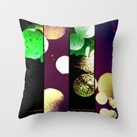Many Moons 2 Throw Pillow