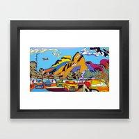 Ipanema Framed Art Print