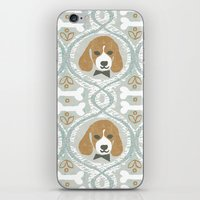 dapperific dog iPhone & iPod Skin