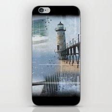 Manistee Lighthouse MI iPhone & iPod Skin