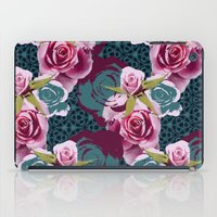 Modern Baroque Rose iPad Case