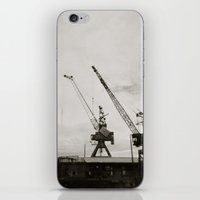 { dancing cranes } iPhone & iPod Skin