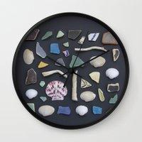 Ocean Study No. 1 Wall Clock