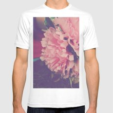fresh pink Mens Fitted Tee White SMALL