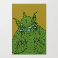 Dagon wants a hug Canvas Print