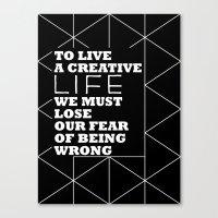 Creative Canvas Print