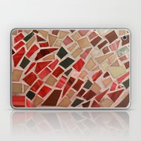 Razzle Red Mosaic Laptop & iPad Skin