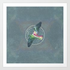 Cosmic Bird Art Print
