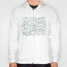 The Walrus and the Carpenter, Stanza 3 Hoody