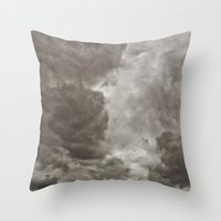 PEACEFUL FRUSTRATION Throw Pillow