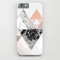 iPhone Cases featuring Graphic 110 by Mareike Böhmer Graphics