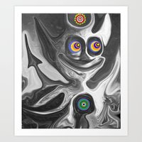 The Anomoly Art Print