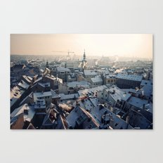 Old Town Sunrise, Prague Canvas Print