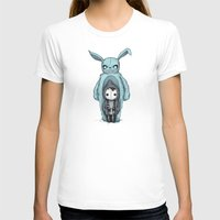 Plushie Darko Womens Fitted Tee White SMALL