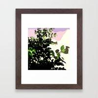 Naturmotiv. Framed Art Print
