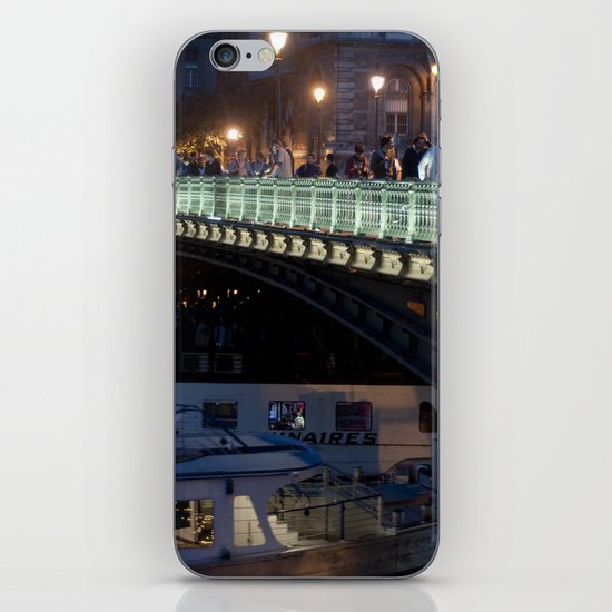 Paris by Night III iPhone & iPod Skin