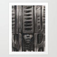 GHOST 23 Art Print