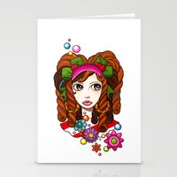 Cherry Cherry Stationery Cards