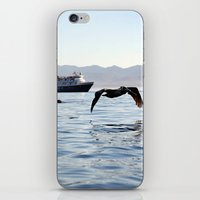 passing through iPhone & iPod Skin