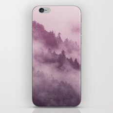 Purple Haze in the Smokey Mountains iPhone & iPod Skin