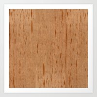 Cedar Spanish Wood Art Print