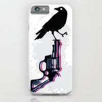 iPhone & iPod Case featuring Death on Death by Jaina Hill-Rodriguez