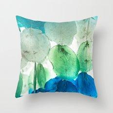 Capiz Shells Throw Pillow