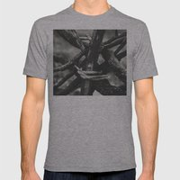 Taboo Mens Fitted Tee Athletic Grey SMALL