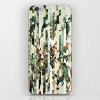 Flowr_02 iPhone & iPod Skin