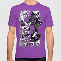 Faster II Mens Fitted Tee Ultraviolet SMALL