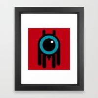 I Wanna Be Your Dog Framed Art Print