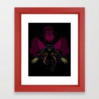 -X- Framed Art Print