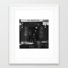 LE REFUGE Framed Art Print