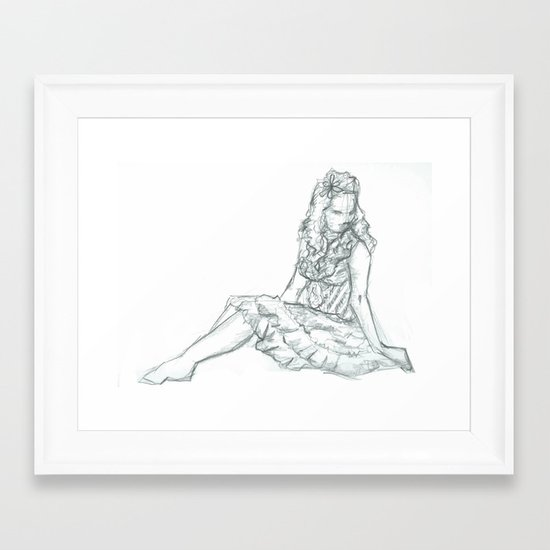 Comfort Framed Art Print