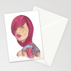 Je ne sais quoi Stationery Cards