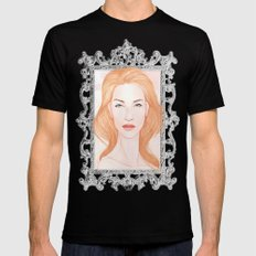 Pink Alice II Mens Fitted Tee Black SMALL